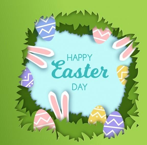 Easter Day Frame