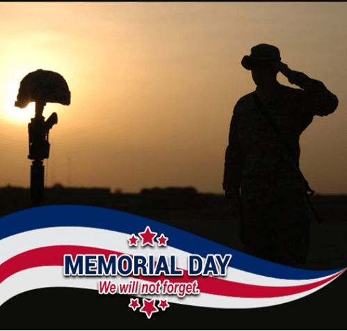 Toni Tails Memorial Day Frame