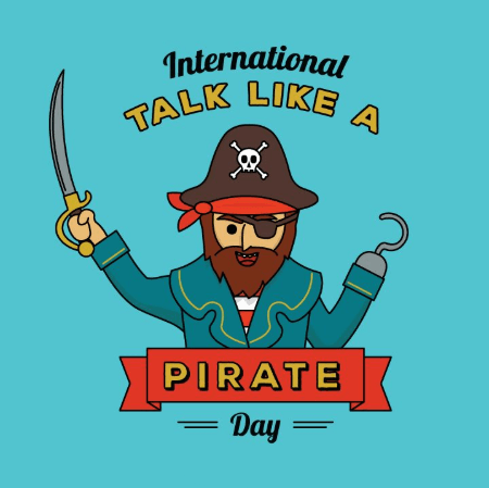 Talk Like a Pirate Day Profile Picture Frame