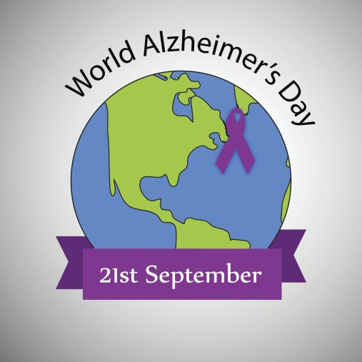 World Alzheimers Day Profile Picture Frame