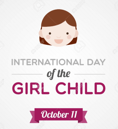 Child Girl Day Profile Frame