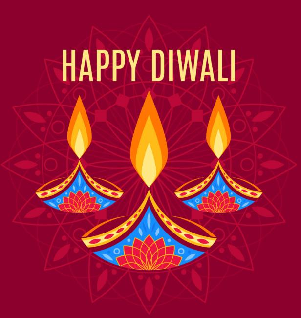 Diwali Profile Frame