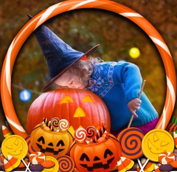 Halloween Toni Tails Frame