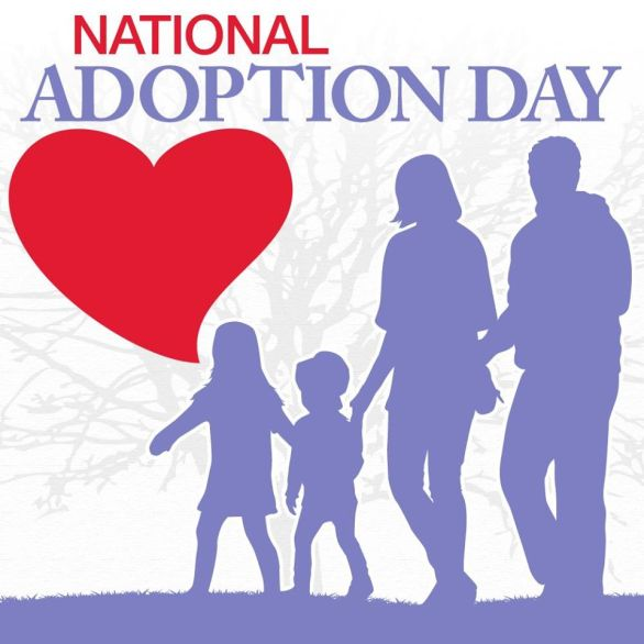 National Adoption Day Profile Frame
