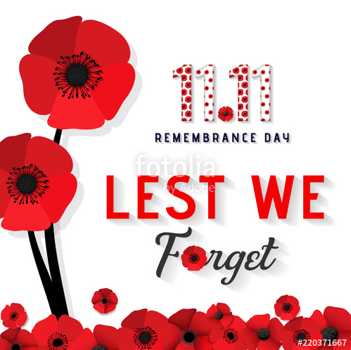 Remembrance Day Profile Frame