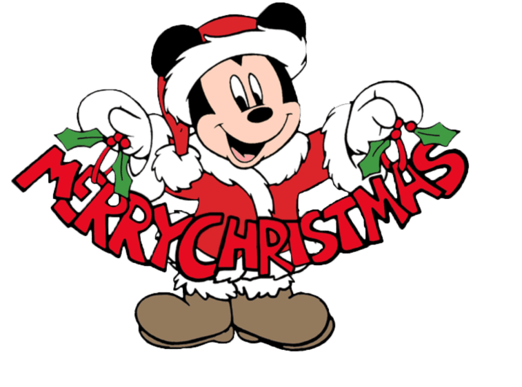 Mickey Mouse Merry Christmas Frame