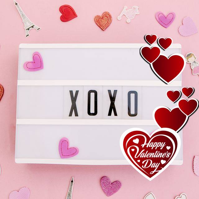Valentines Day Toni Tails Frame