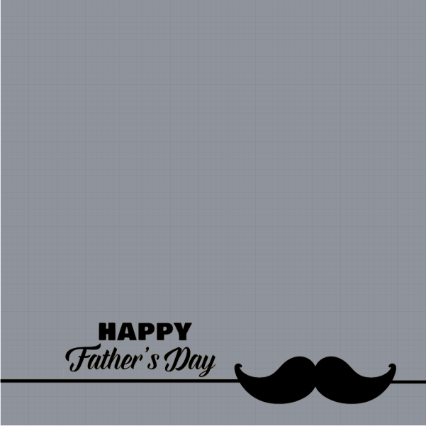 Happy Fathers Day Profile Frame