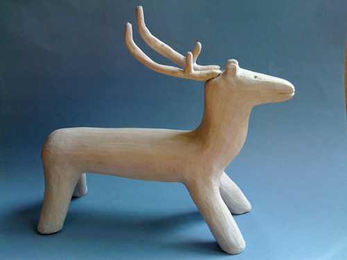 copie sculpture inuit