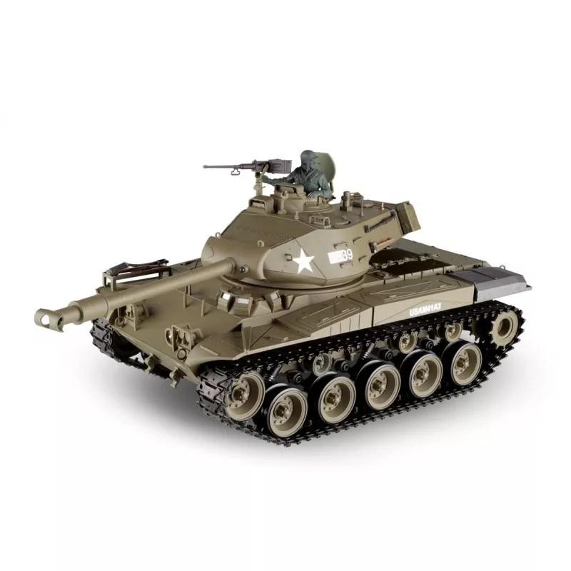 RC tank 1:16 M41A3 WALKER BULLDOG kouř. a zvuk. efekty - Profimodel.cz