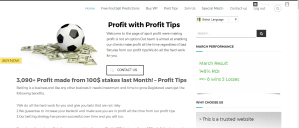 Profit Tips - Free and Paid football Predictions