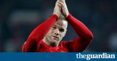 Wayne Rooney: a Manchester United great who departs to muted applause