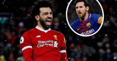 Jurgen Klopp says Mo Salah is 'on his way' to being compared to Lionel Messi