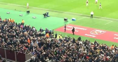 West Ham to erect security barrier to prevent further crowd trouble