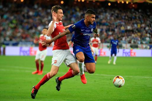 Arsenal 1-4 Chelsea, Europa League final: Giroud nets against former club as Gunners collapse in Baku