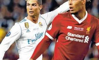 Ronaldo's battle with Van Dijk