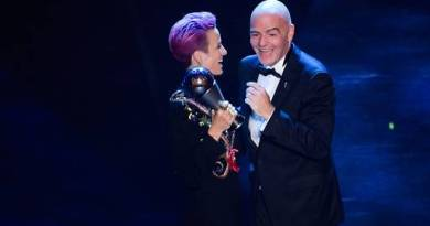 Messi and Rapinoe win FIFA awards