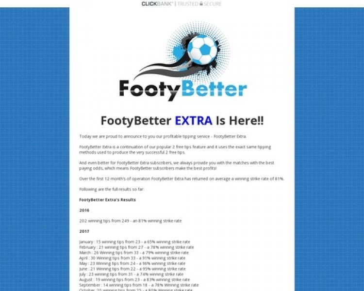 Footybetter Extra