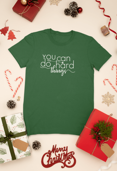 mockup-of-a-t-shirt-surrounded-by-christmas-presents-and-decorations-30632(4)