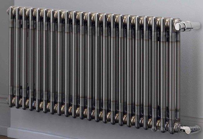 radiador tubular.