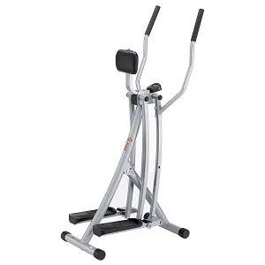 Sunny Health & Fitness SF-E902 Air Walk Trainer Elliptical Machine Glider w LCD Monitor