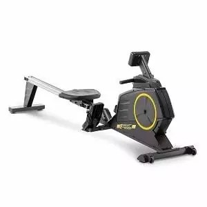 Circuit Fitness Deluxe Foldable Magnetic Rowing Machine with 8 Resistance Settings & Transport Wheels AMZ-986RW