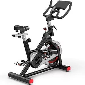 Indoor Cycling Bike Stationary - Exercise Bike Stationary Bikes with 35 lbs Flywheel and 10 2 Large Ipad Mount