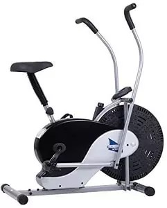 Body Rider BRF700 Exercise Upright Fan Bike with UPDATED Softer Seat Stationary Fitness Adjustable Seat