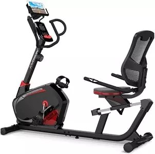 HARISON Magnetic Recumbent Exercise Bike Stationary bike for Seniors 350 LBS Capacity with 14 Level Resistance