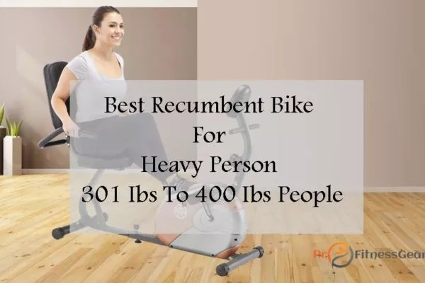 bestrecumbent exercise bike for obese