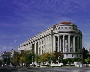 The Apex Building, headquarters of the Federal...