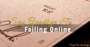 how to stop failing online