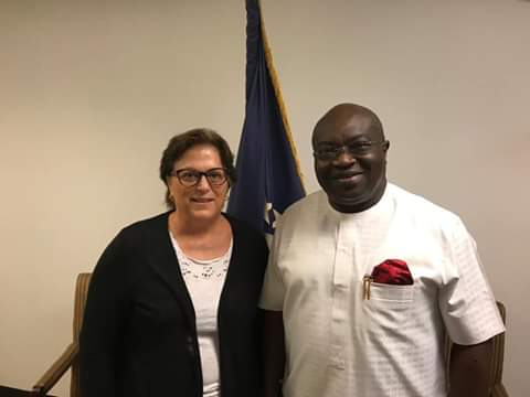 Strengthening ABIA-USA Ties: Ikpeazu Visits New US Consul-General