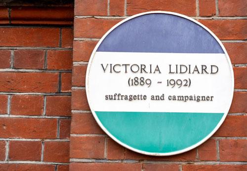 Victoria Lidiard, Suffragette, Campaigner in Hove | ProfJoeCain