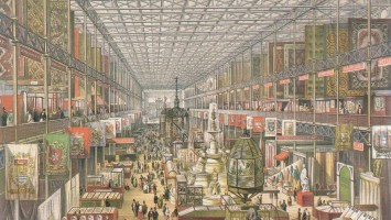 Crystal Palace 1851 interior (British)