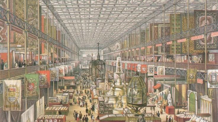Crystal Palace 1851 interior (British)