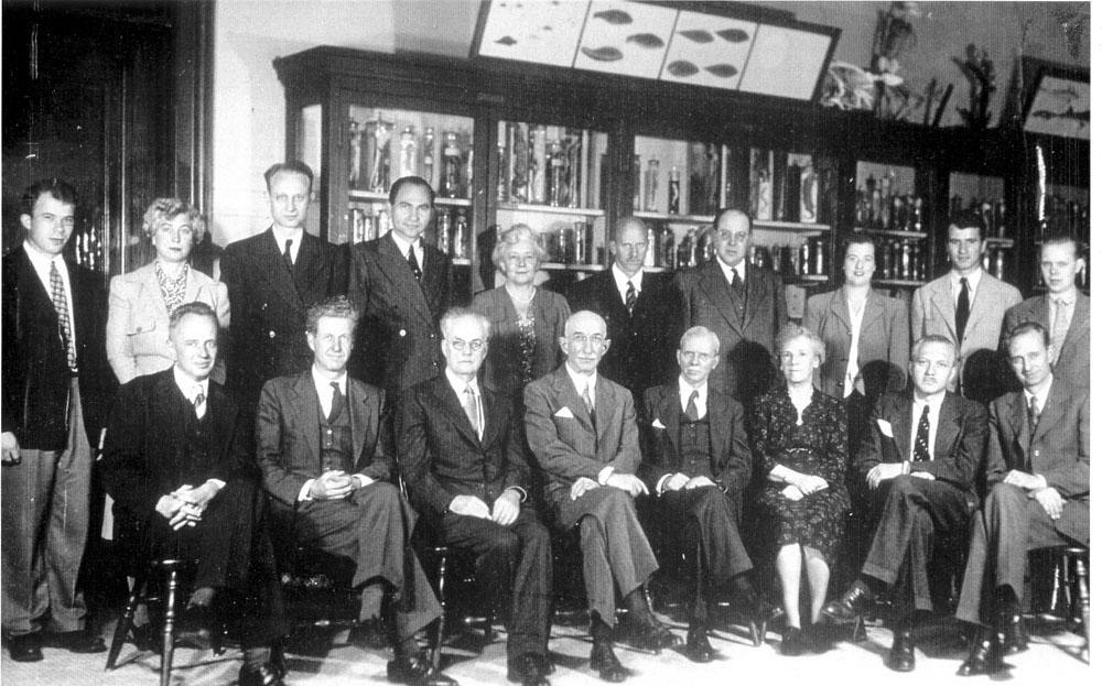 Columbia University Department of Zoology Staff c1940