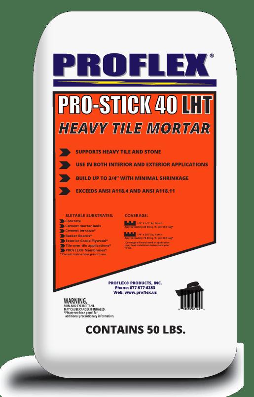 ps 40 lht large heavy tile mortar