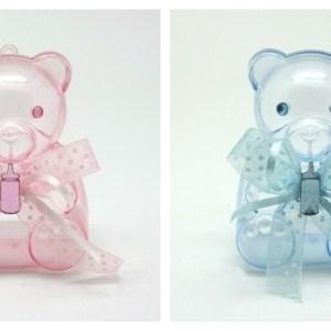 Caixa urso em acrilico 10 cm 1
