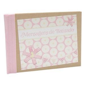 Livro Honra Batismo Menino/Menina 31x23cm