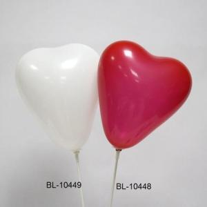 Balões em forma de coração - 20 unidades
