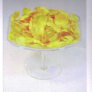 Petalas artificiais amarelas 250 uni
