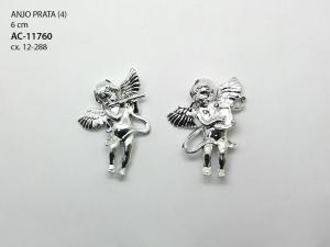 Anjo 6 cm 4 unidades