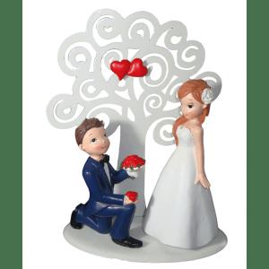 Topo de bolo noivos 2