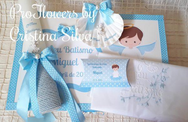 Caixa de cartolina personalizada com dezena 1