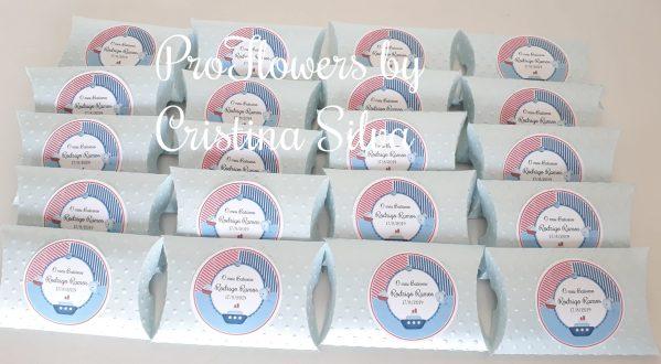 Caixa de cartolina personalizada com dezena 3