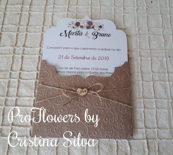 Convite Floral 1