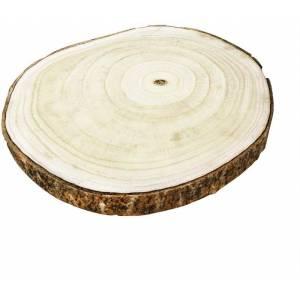 Disco de madeira rustico para decoração