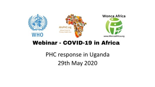 WHO Africa Webinar Title Intro