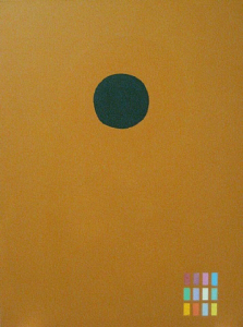 Adolph Gottlieb Green disc, 1972
